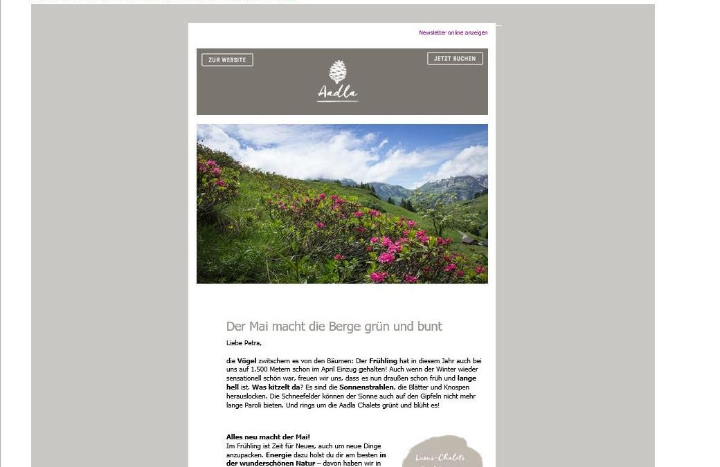 Newsletter Aadla